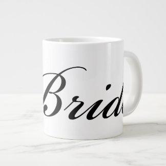 Diamond Bride Mug Black On White