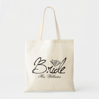 Diamond Bride Tote Bag