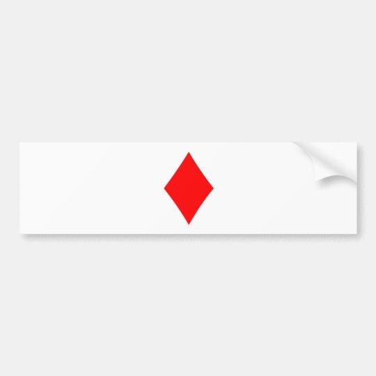 Diamond Bumper Sticker