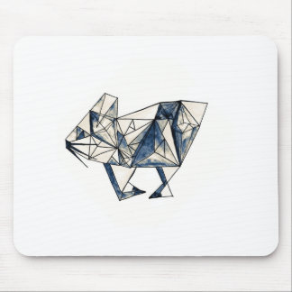 Diamond Bunny Mouse Pad