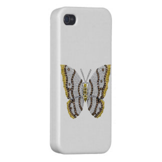 Diamond Butterfly Print iPhone 4/4S Case