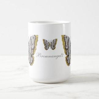 Diamond Butterfly Print Mug