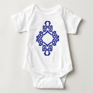 Diamond Celtic Knotwork Baby Bodysuit
