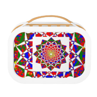DIAMOND Chakra : Energy Ring Wing Wheel Lunch Box