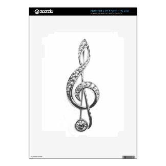 Diamond Cleft Note iPad 3 Skins