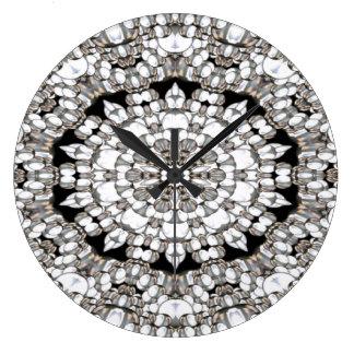 Diamond Cluster Wall Clock