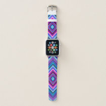 Diamond Colorful Geometric Kaleidoscope Apple Watch Band
