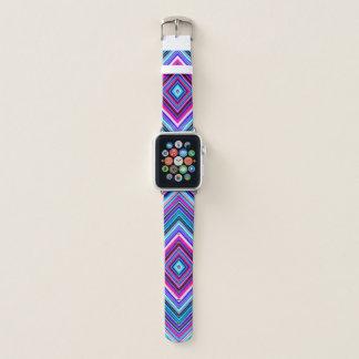 Diamond Colorful Geometric Kaleidoscope Apple Watch Band