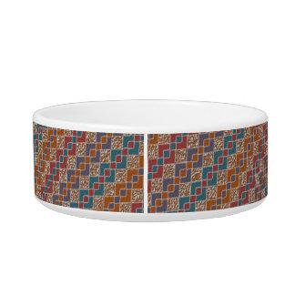 Diamond Connection Pet Dog Cat Ceramic Bowl Medium