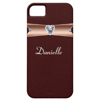 Diamond-Copper Personalized iPhone5 Case