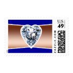 Diamond Copper Postage Stamps