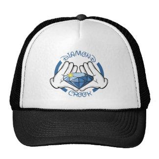 Diamond Crooks Mesh Hats