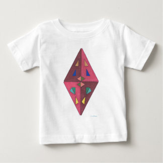Diamond Cut Abstract Art Baby T-Shirt