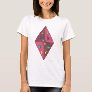 Diamond Cut Abstract Art T-Shirt