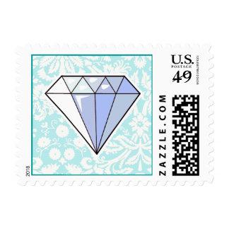 Diamond; Cute Postage
