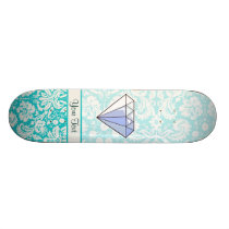 Diamond; Cute Skateboard