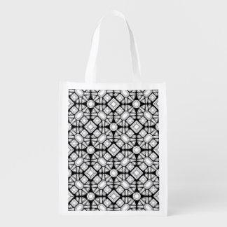 Diamond Cutter Grocery Bag
