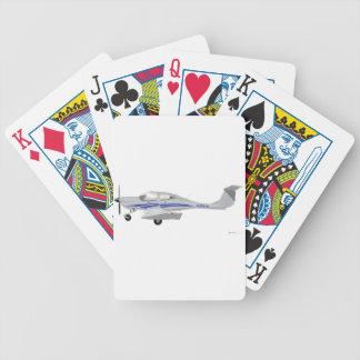 Diamond DA-40 Bicycle Playing Cards