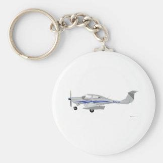 Diamond DA-40 Keychain