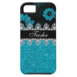Diamond Dahlias iPhone SE/5/5s Case