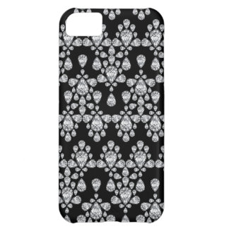 Diamond Damask Cover For iPhone 5C