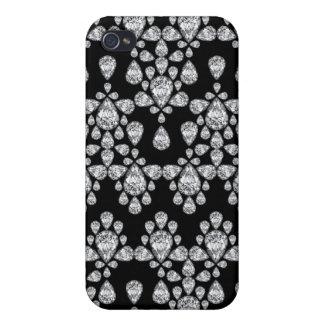 Diamond Damask iPhone 4/4S Case