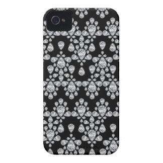 Diamond Damask iPhone 4 Case-Mate Case