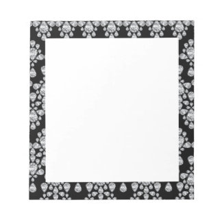 Diamond Damask Notepad