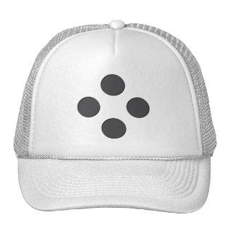 Diamond DarkGrey Dots Trucker Hat