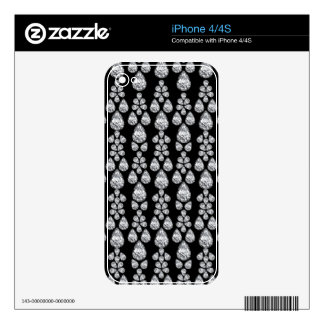 Diamond Dazzle Decal For iPhone 4