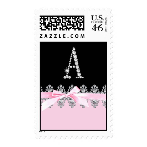 Diamond Delilah Initial: A Postage