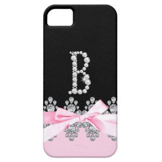 Diamond Delilah Initial: B iPhone 5 Case
