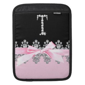 Diamond Delilah: Initial T iPad Sleeve
