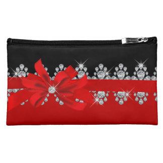 Diamond Delilah - Red Hot! Cosmetic Bag