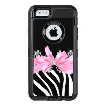Diamond Delilah Zebra (Pink) OtterBox Defender iPhone Case