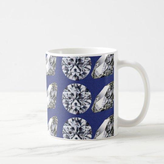 DIAMOND DESIGN COFFEE MUG