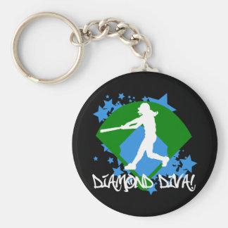 Diamond Diva! Keychain