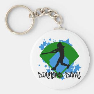 Diamond Diva! Key Chain