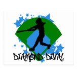 Diamond Diva! Post Card
