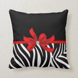 Diamond Diva (red) Throw Pillow