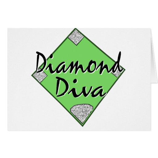 Diamond Diva Softball Card