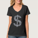 Diamond Dollar Sign Bling T-Shirt