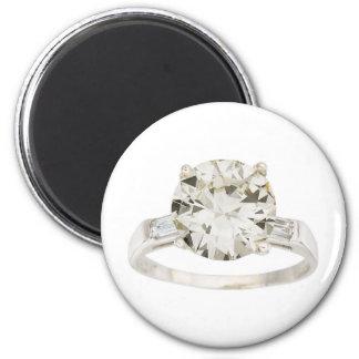 Diamond Engagement Ring Hint Hint Magnet