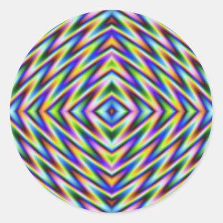 Diamond Eye Round Sticker