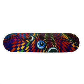 Diamond Eyes CricketDiane Skateboard Deck Design
