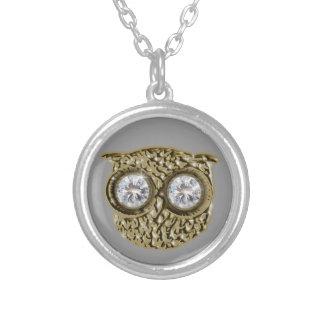 Diamond eyes Owl jewel Jewelry