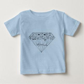 Diamond Feelings, Many Facets Baby T-Shirt