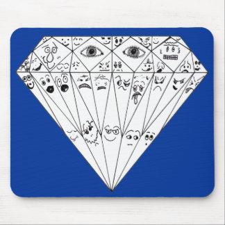 Diamond Feelings, Many Facets Mouse Pad