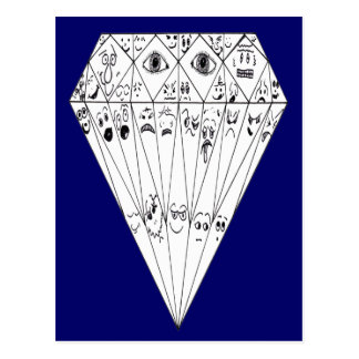 Diamond Feelings, Many Facets Post Cards