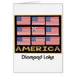 diamond flag 9 card